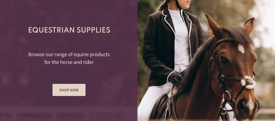 Shop Equestrian Supplies