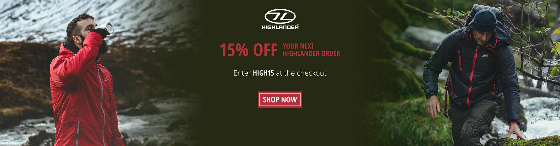 Shop Our Highlander Range