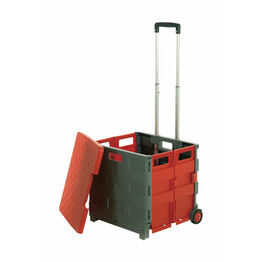 GPC Folding Box Truck - With lid. Red/Grey (G1042Y)