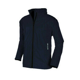 Mac in a Sac 2 Unisex Kids Packaway Raincoat Jacket - NAVY