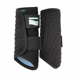 Equilibrium Equine Stretch & Flex Flatwork Leg Wrap - Black