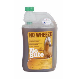 No Bute NoWheeze Respiratory Opener For Horses - 1 Litre