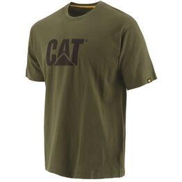 Caterpillar Trademark Logo T-Shirt - Chive
