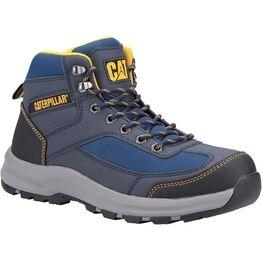 Caterpillar Elmore Mid Safety Hiker Boots - Navy