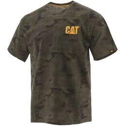 Caterpillar Trademark Logo T-Shirt - Night Camo