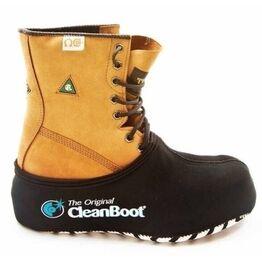 CleanBoot Protective Boot Overshoe - Black