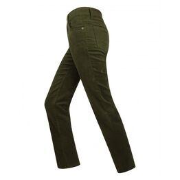 Hoggs Catrine Women's Stretch Moleskin Jeans - Forest Green