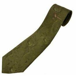 Bisley No.2 Single Pheasant Print Tie