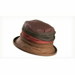 Olney RUBY MULTI Multi Wax Rouched Crown Hat