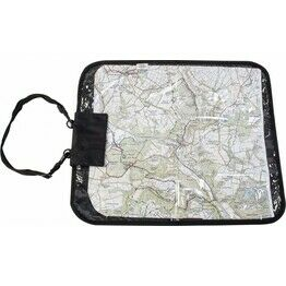 Highlander Deluxe Map Case - Black