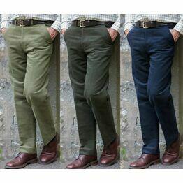 Hoggs of Fife Men's Monarch Moleskin Trousers