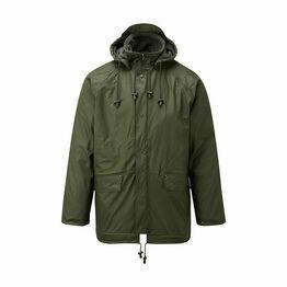 Castle Clothing Fleece Lined Jacket - Green