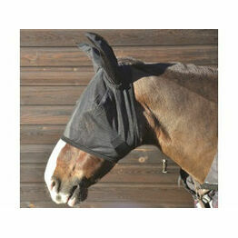 Hy Fly Anti-UV Horse Mask With Ears
