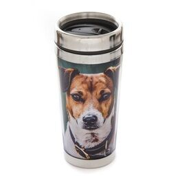 Country Matters Thermal Mug - Amber the Jack Russell