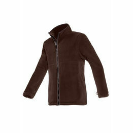 Baleno Henry Mens Fleece Jacket in Chocolate Brown
