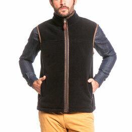 Aigle Men's Zip-Up Shepper Fleece Vest
