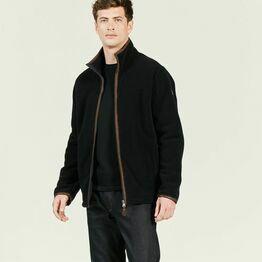 Aigle Men's Garrano Fleece Jacket - Night Blue