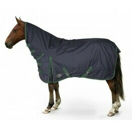 Gallop Trojan Lite-Weight Combo Turnout Rug - Navy