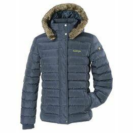 Kanyon Fisher Dark Navy Women's Puffer Jacket