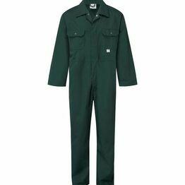 Castle Stud Boiler Suit - Spruce Green