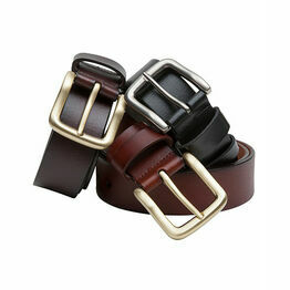 Hoggs of Fife Tan Luxury Leather Belt