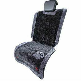 Universal Car Seat Dog Mat from Pet Rebellion - Black