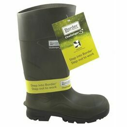 Border Challenger Wellington Boots - Green