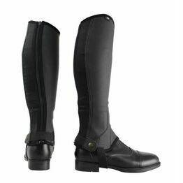 HyLand Childs Black Synthetic Combi Leather Chaps