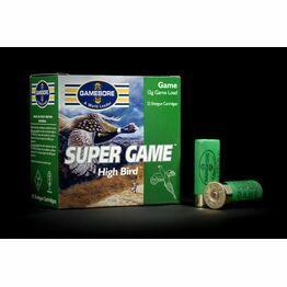 Gamebore Supergame Hi Bird 7/28 Fibre Shotgun Cartridges 12g