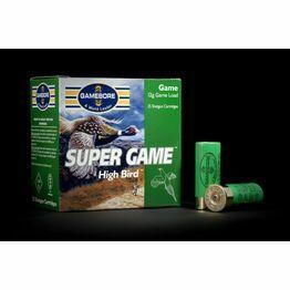 Gamebore Supergame Hi Bird 5/32 Fibre Shotgun Cartridges 12g