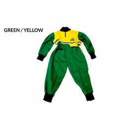 GDT Hi Viz Boiler Suit - Green/Yellow