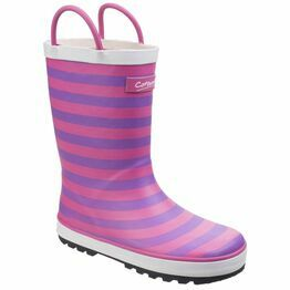 Cotswold Girls Captain Stripy Wellington Boots