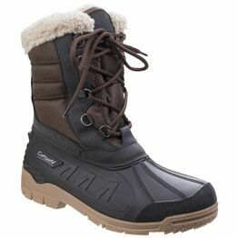 Cotswold Coset Women's Hybrid All-Weather Boots - Black/Brown