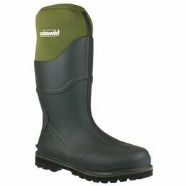 Cotswold Ranger Neoprene Men's Rubber Wellington Boots