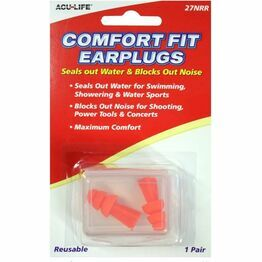 Bisley Comfort Fit Reusable Ear Plugs