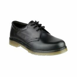 Amblers Aldershot Leather Gibson Shoes (Black)