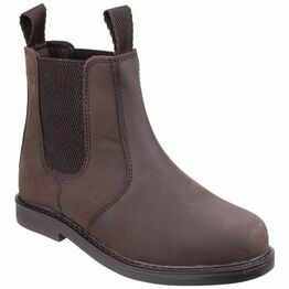 Amblers Childrens Camberwell Pull On Dealer Boots (Brown)