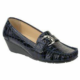 Amblers Kensington Ladies Shoes (Navy)