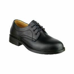 Amblers Newport Shoes (Black)