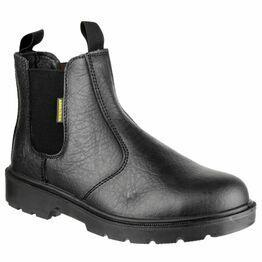 Amblers Safety FS116 Dual Density Pull-On Safety Dealer Boots (Black)