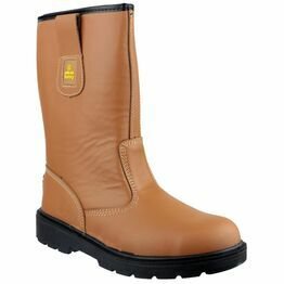 Amblers Safety FS124 Water Resistant Pull On Rigger Boots (Tan)