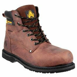 Amblers Safety FS145 Waterproof Welted Lace Up Boots (Brown)