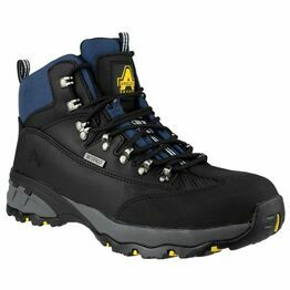 Amblers Safety FS161 Waterproof Lace up Hiker Boots (Black)