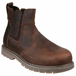 Amblers Safety FS165 Pull-On Safety Dealer Boots (Brown)