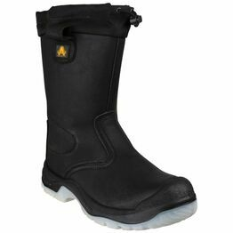 Amblers Safety FS209 Water Resistant Pull On Boots (Black)