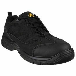 Amblers Safety FS214 Breathable Lace up Safety Boots (Black)