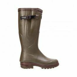 Aigle Parcours 2 Iso Adjustable Wellington Boots - Khaki