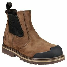 Amblers Safety FS225 Waterproof Chelsea Safety Boots (Brown)