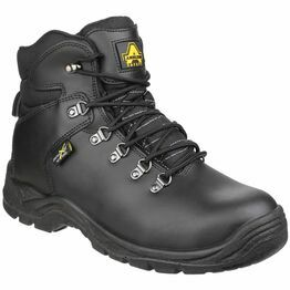 Amblers Safety AS335 Poron XRD Internal Leather Safety Boots (Black)