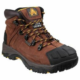 Amblers Safety FS39 Waterproof Lace Up Safety Boots (Brown)